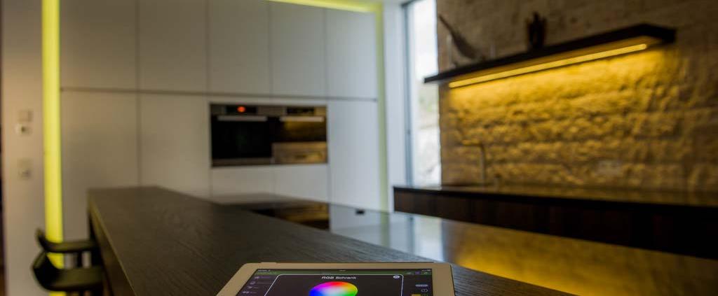سیستم روشنایی در خانه هوشمند