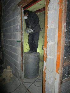 مرحله اجرا لوله کشی ساختمان