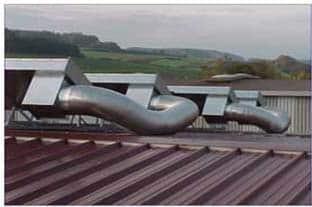 انرژی خورشیدی و هوا گرم کن خورشیدی