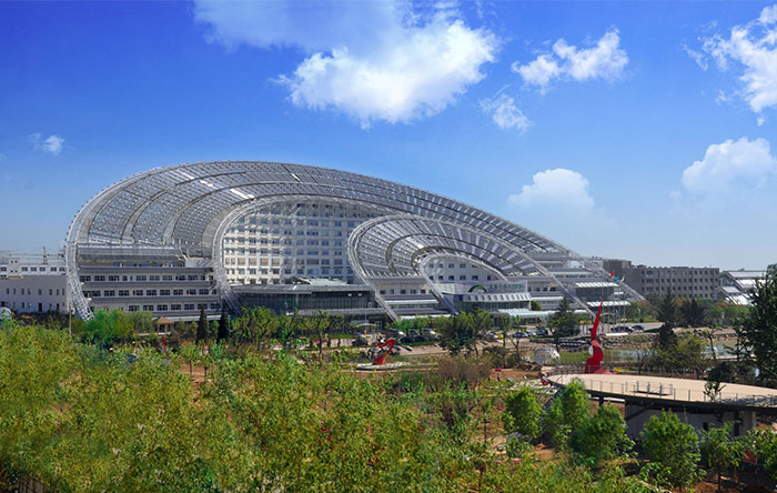 معماری پایدار در چین