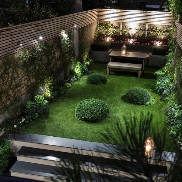 کنترل خانه هوشمند و فضای سبز