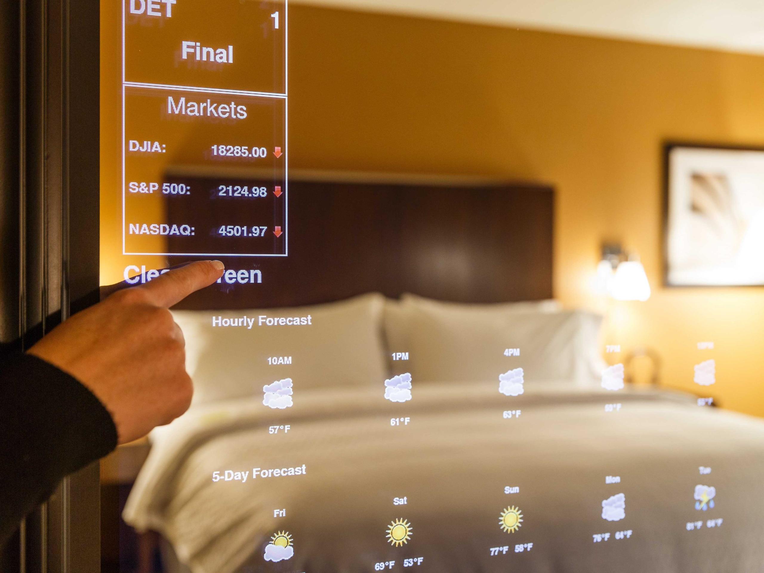 هتل هوشمند با زوریل