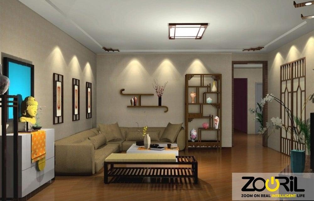 انواع نورپردازی در ساختمان هوشمند
