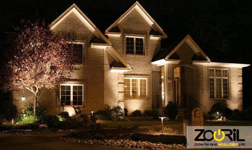 روش های مختلف نورپردازی ساختمان و نورپردازی نما