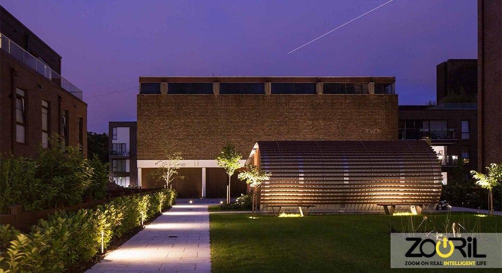 نورپردازی ساختمان و روش های مختلف آن و اصول نورپردازی ساختمان هوشمندو نورپردازی خشن