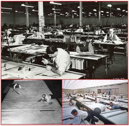 مدل سازی اطلاعات ساختمان در سال های 1970 که بیم وجود نداشت