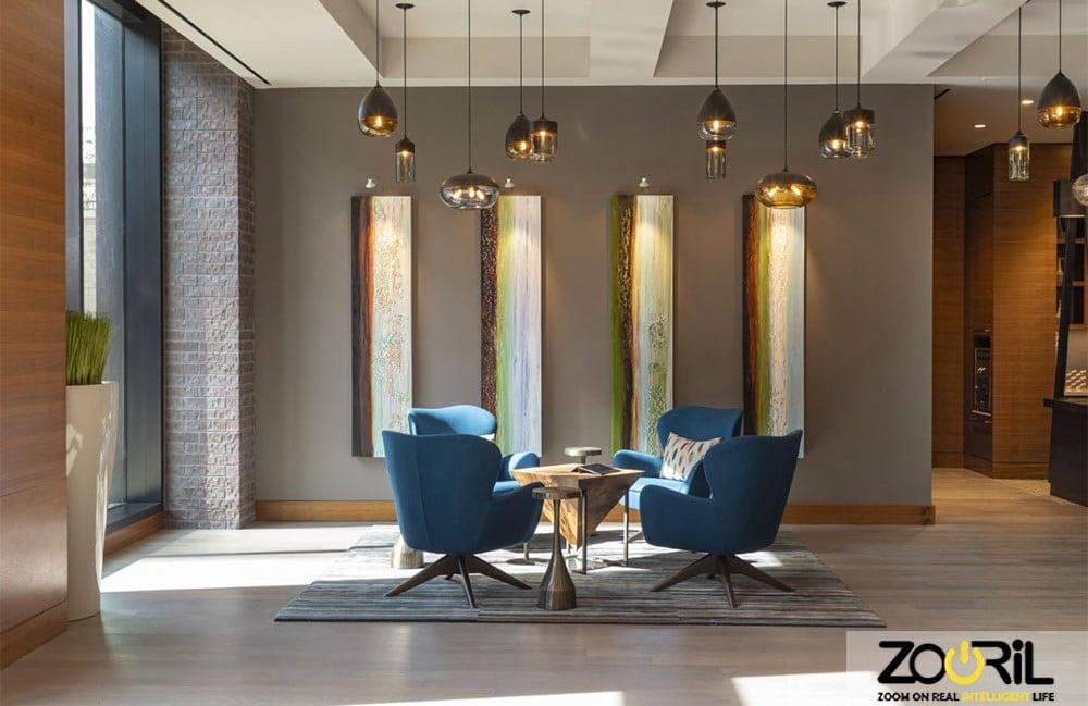 نورپردازی ساختمان و روش های مختلف آن و اصول نورپردازی ساختمان هوشمند ( بخش ۲ ) |