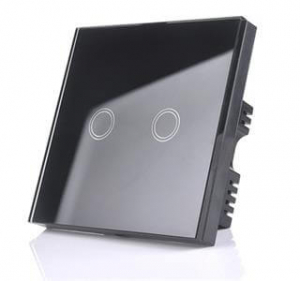 تصویر کلید هوشمند لمسی از نوع دو پل