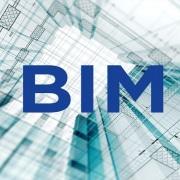 تصاویری گرافیکی از بیم یا BIM برای نمایش مفهوم مدل سازی اطلاعات ساختمان