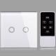 تصویری از کلید هوشمند به رنگ سفید و ریموت را نشان می دهد.